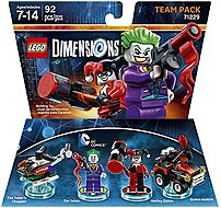 Let your creativity be your guide as you build the LEGO Gateway to adventure, journeying through unexpected worlds and teaming up with unlikely allies on the quest to defeat the evil Lord Vortech using Warner Home Video   Games 883929469703 1000561501 DC Comics Team Pack