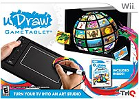 The THQ 30550 uDraw Game Tablet with uDraw Studio  Instant Artist bundle is an unique way for players of all ages to creatively interact with each other and their Wiis