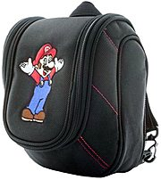 The Bigben 3DS911 Super Mario Deluxe Game Traveler Case features padded compartments and elastic straps provide a secure fit and protection for the Nintendo DS system, power supply and additional cables