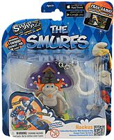Swappz 628430122231 12223 The Smurf's - Hackus Gaming Figure with Power-Up Coin
