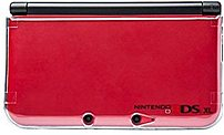 PowerA CPFA124612 01 Clear Playthru Case for Nintendo 3DS XL