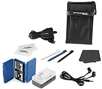 Discover a dozen ways to enhance your gaming experience with the Nintendo DS Lite PowerA CPKW079143 01 15 in 1 Everyday Starter Kit, featuring everything you need to protect, store, charge and clean your game system, games and accessories