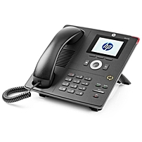 Hp Unified 4120 Ip Phone - Cable - Desktop - 1 X Total Line - Voip - Caller Id - Speakerphone - 2 X Network (rj-45) - Usb - Poe Ports J9766b