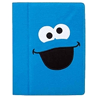 I.sound Isound-4611 Carrying Case (portfolio) For Ipad - Blue - Plush - Cookie Monster
