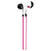 Ifrogz Audio Intone Earbuds With Mic Pink - Stereo - Pink - Mini-phone - Wired - 32 Ohm - 20 Hz - 20 Khz - Earbud - Binaural - In-ear - 4.10 Ft Cable If-itn-pnk