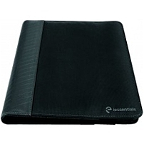 """Iessentials Ie-uf10-bk Carrying Case (folio) For 10"""" Tablet, Ipad - Black - Pleather, Nylon - 11.5"""" Height X 7.5"""" Width X 0.8"""" Depth"""