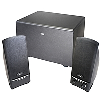 Cyber Acoustics Ca-3001rb 2.1 Speaker System - 14 W Rms - Black - 38 Hz - 18 Khz Ca-3001rb