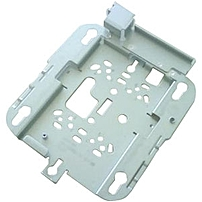 P This bracket is versatile  works with electrical boxes, wall mounting, and adapts to ceiling installations  but leaves a larger gap between the ceiling and the AP than the low profile bracket