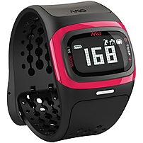 Mio Alpha2 Heart Rate Sport Watch - Wrist - Accelerometer, Optical Heart Rate Sensor - Heart Rate - Bluetooth - Bluetooth 4.0 - 2191.45 Hour - Pink - Silicone - Health & Fitness, Sports - Water Resistant 58p-pnk