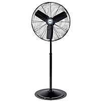 P If you are looking for a high quality industrial strength fan, the 30 inch oscillating pedestal is what you need.Be prepared to get blown away by the powerful air delivery this fan produces