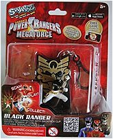 Swappz 628430123184 Power Rangers Mega Force Black Ranger Gaming Figure with Coin
