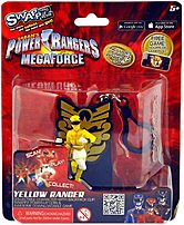 Swappz 628430123207 Power Rangers Mega Force with Coin - Yellow Ranger Gaming Figure