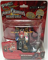 Swappz 628430123214 Power Rangers Mega Force with Coin - Mega Zord