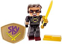 JazWares 681326100522 Tube Hero Sky Gaming Figure with Accessories 681326100522