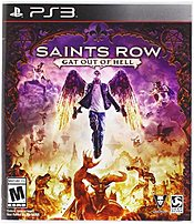 Square Enix 816819012413 Saints Row IV Gat Out of Hell Deep Silver PlayStation 3