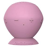 Audiosource Sound Pop Speaker System - 3 W Rms - Wireless Speaker(s) - Pink - 32 Ft - Bluetooth - Usb Sp2p