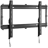 """Chief RLF2 Wall Mount for Flat Panel Display - 32"""" to 52"""" Screen Support - 125 lb Load Capacity - Black RLF2"""