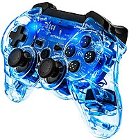 PDP 064-015-NA-BL Afterglow Wireless Controller for PS3 - Blue 064-015-NA-BL