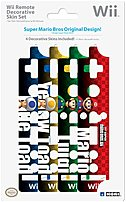The Hori UHWI 36 Wii Remote Skin features popular characters from the New Super Mario Bros