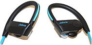 Jabra Sport Pace Wireless Earset - Stereo - Blue/Black - Wireless -