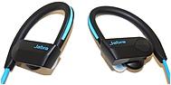 Jabra Sport Pace Wireless Earset Stereo Blue Black Wireless Bluetooth 32.8 ft 32 Ohm 100 Hz 10 kHz Earbud Binaural In ear 100 97700002 02