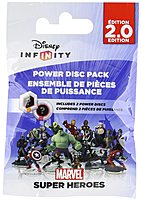 In Disney Infinity 1206460000000 Marvel Super Heroes  2.0 Edition  Power Disc Pack Gaming Figures use Power Discs to modify or customize Disney Infinity Play Sets and Toy Box Worlds