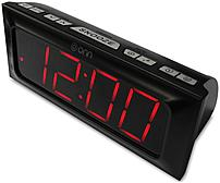 Get your favorite local tunes bedside with the ONN Digital AM FM Clock Radio