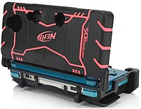Pdp N7997 708056579975 Nerf Triple Armor Case For 3ds - Pink