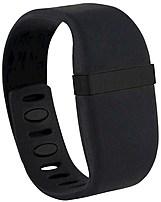 Cuff 855221006061 DVB Sport Band Smart Jewelry - Black - Metallic Accent