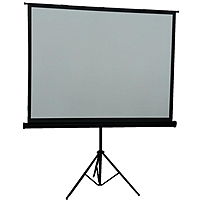 "Inland Projection Screen - 84"" - 4:3 - 73"" X 41"" - Matte White 012405053574"