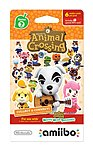 Animal Crossing Nvlema6b Amiibo Cards Series 2 (6-pack) - Nintendo Wii U
