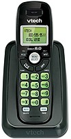 The VTech CS6114 11 Cordless Phone is handset displays the name, number, time and date of incoming calls