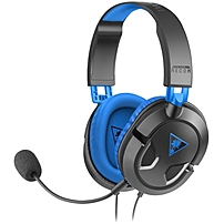 An amplified digital stereo headset for PlayStation reg 4 and PlayStation reg 3 gamers, theEar Force Recon 60P delivers long lasting comfort and game changing features with booming 40mm speakers and in line controls that place Mic Mute and Master Volume at your fingertips