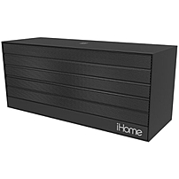Ihome Ibn27 Speaker System - 6 W Rms - Wireless Speaker(s) - Black - Bluetooth - Usb - Ipod Supported Ibn27bx