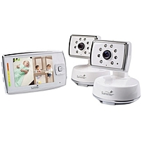 Monitor multiple children or rooms with the Dual View system