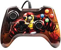 With PowerA 1414565 01 Wired Controller Marvel Ironman   Xbox 360 Tony Stark always has the coolest style and the best tech like featuring custom Iron Man Graphics