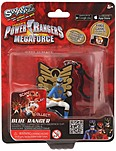 Swappz 628430123191 Power Rangers Backpack Clip- Blue Ranger Gaming Figure