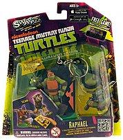 SWAPPZ 628430123153 Teenage Mutant Ninja Turtles Raphael Figure Keychain