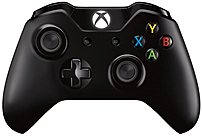 Microsoft EX6-00001 Xbox One Wireless Controller - Up to 18 Feet - 2015 - Black