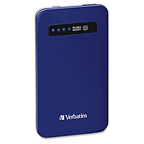 Verbatim Ultra-Slim Power Pack, 4200mAh - Cobalt Blue - TAA Compliant 98455 98455