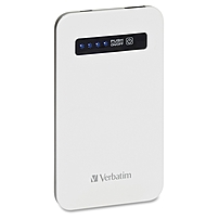 Verbatim Ultra-slim Power Pack, 4200mah - White 98454
