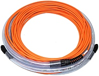 24METERLCLC12COR 24-meter Octopus Om3 Multimode Fiber Optic Cables - LC-LC-12 pair/connections