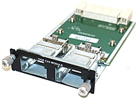 Dell 0GM765 PowerConnect Dual Port Uplink Module - 10GE - CX4