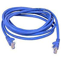 Belkin A3L791B03BLS-DL Cat. 5e Network Patch Cable - RJ-45 Male - RJ-45 Male - 35.83-inch - Blue