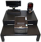 Wasp 633808471477 POS System Kit - Component Stand - Barcode Scanner - Pole Display - Receipt Printer