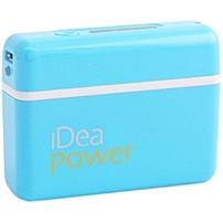 iDeaUSA BP-33B Portable Power Bank - 5200 mAh - Blue