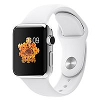 Apple Watch Smart Watch - Wrist - Optical Heart Rate Sensor, Accelerometer, Gyro Sensor, Ambient Light Sensor - Bluetooth - Bluetooth 4.0 - Wireless LAN - IEEE 802.11b/g/n - 18 Hour - 1.52' - 0.41' -