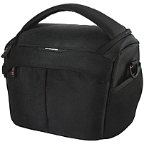 P 2 GO is a sleek camera bag designed to be toted everywhere, providing instant access to your gear