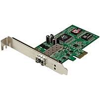 P The PEX1000SFP2 PCI Express Gigabit Fiber Network Card lets you connect a PCI Express based computer directly to a fiber optic network using the Gigabit SFP of your choice