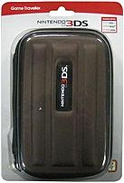 The RDS Industries 663293104314 Game Traveler Case for Nintendo 3DS is designed in a great black and hard style casing to keep your gaming system protected while travelling.
